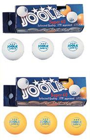 Joola Table Tennis Balls - Super 3-Star Box of 3