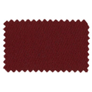 Milliken SuperPro 9' Burgundy Pool Table Cloth