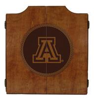 Arizona Wildcats Dart Cabinet - Medallion Series