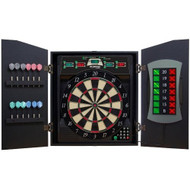 Arachnid Bullshooter E-Bristle Cricketmaxx 5.0 Dartboard Cabinet Set