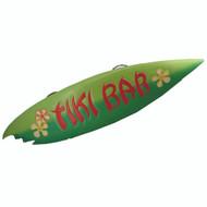 Outdoor D-cor Tiki Bar Surfboard