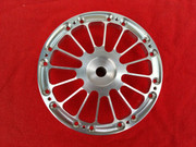 Jmex 4 piece Alpina spoke wheels centers interchangeable with the 4 piece split rims.