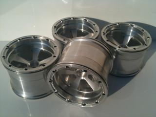 1/5th Scale Jmex Fg Stadium truck split rim wheels