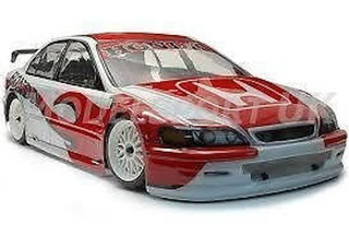 Honda Accord 535mm Pro body shell now with Free Decal included.