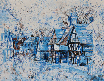 Surrey Blue Series: Shere Village