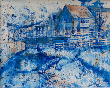 Surrey Blue Series: Farnham Maltings View