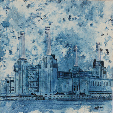 Battersea power station art