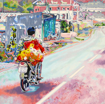Vietnamese Flower Seller