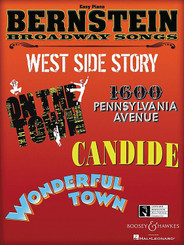 Bernstein Broadway Songs for Easy Piano