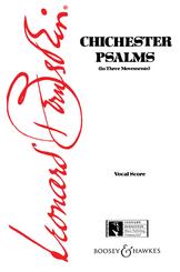 Chichester Psalms (Vocal Score)