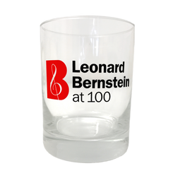 Leonard Bernstein at 100 Glass Tumbler (set of two)