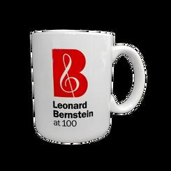 Leonard Bernstein at 100 White Mug
