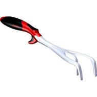 Ergo Cultivator - Ergonomic Grip, Cast Aluminum. Penetrate soil easily with tapered cast aluminum tines (6)