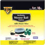 Revenge Mouse Bait Station Refillable 10pk. (12)