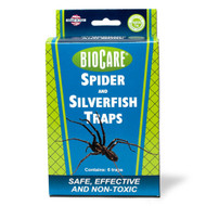SPIDER & SILVERFISH TRAP JUMBO 6 Pack (12), Spring Star