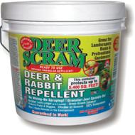 6 LB Deer Scram White Pail