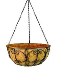 """12"""" New Orleans Hanging Basket"""