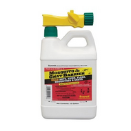 Mosquito & Gnat Barrier with Hose End Sprayer 1/2 Gal