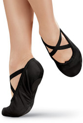 Zapatillas negras y blancas de ballet  / Black and White Ballet Shoes