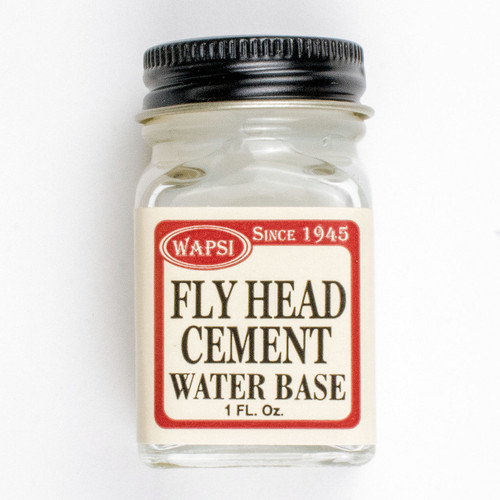 Wapsi Fly Head Cement Water Base