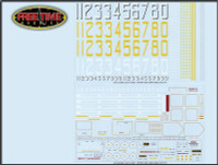 1/700 Starfighter Decals Essex and Midway Class CV Generic Set