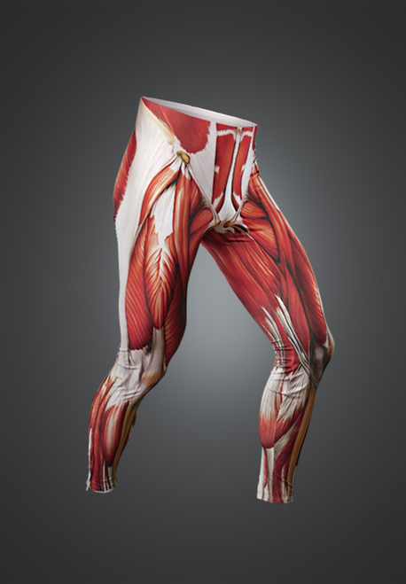 muscle leggings - muscleskinsuit, Muscles