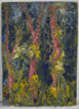Painting of 'Forest Appears' in Oil and Cold Wax
