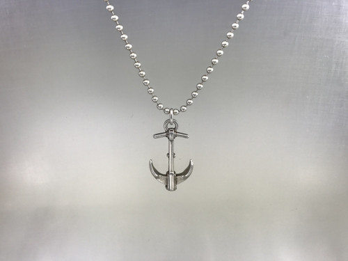 Anchor Pendant in Sterling Silver
