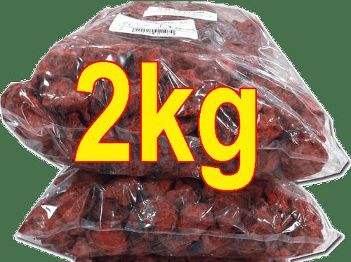 2kg salty plums