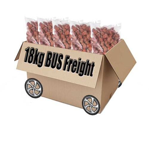 18kg salty plums bus freight