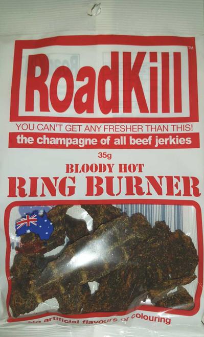 Road kill Beef Jerky Ring Burner