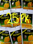 7D Dried mango 25pk