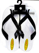 Double plugger thongs front