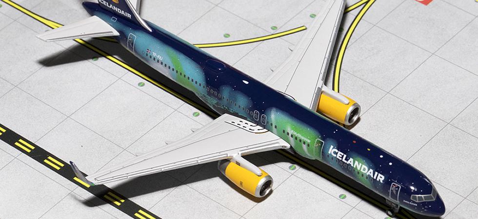 Gemini Jets Iceland Air Aurora