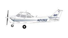 GeminiGA CESSNA (Sporty's Flight School #4) N2135S GGCES006 1:72