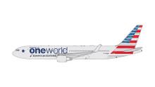 Gemini Jets AMERICAN B767-300W (OneWorld Livery) N343AN GJAAL1680 1:400