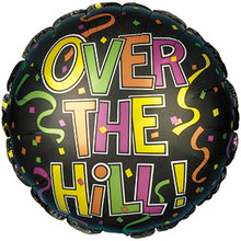 Over The Hill Mylar Balloon