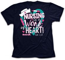 Nursing is a Work of Heart Back