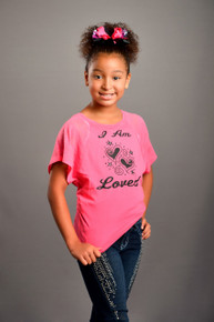 I Am Loved Tween Dolman-Sleeved Tee