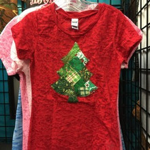 Tween Red & Green Christmas Tree