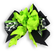 Lime Flower Dress Bow