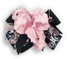 Pink Flower Dress Bow