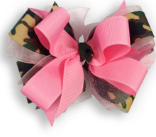 Camo & Pink Bow