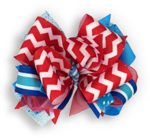 Chevron Flag Bow