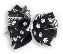 Paw Pride Black Bow