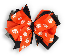 Paw Pride Orange Bow