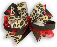 Red Leopard Cross Bow