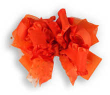 Solid Orange Bow