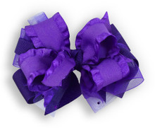 Solid Purple Bow