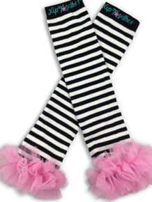 Black & White w/Pink Tutu Leggings